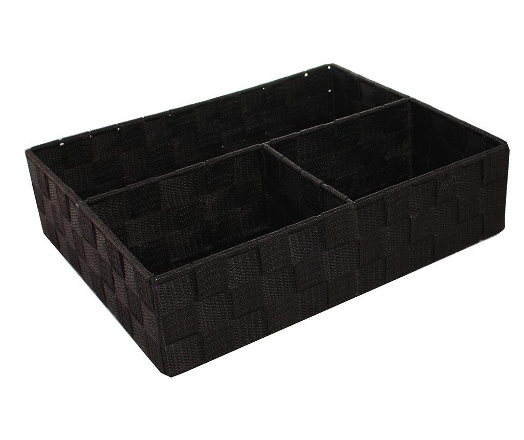 Organizator pentru sertar Mara Four Dark Brown - Compactor imagine