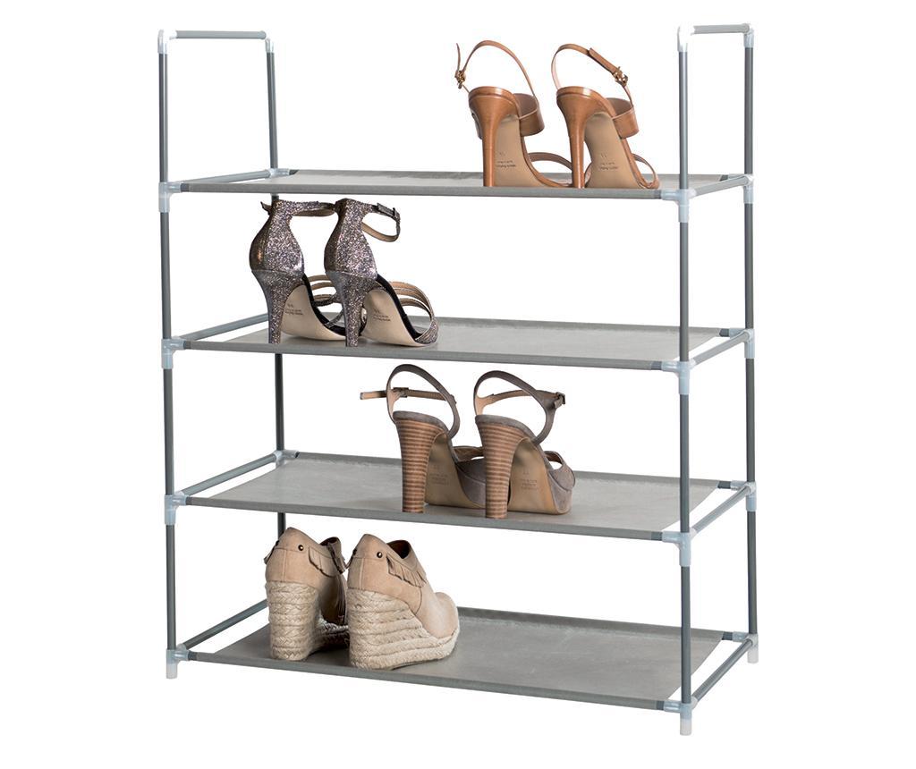 Pantofar Rania Grey - Compactor, Gri & Argintiu imagine