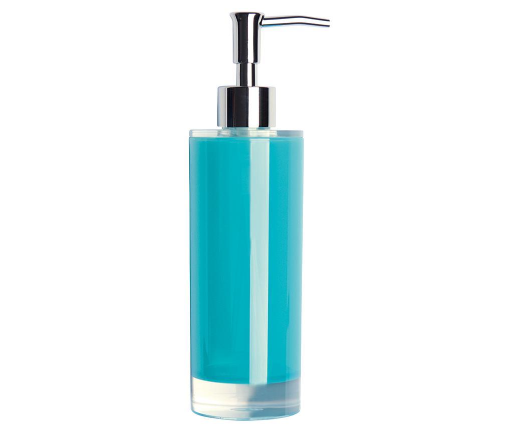 Dispenser sapun lichid Linea Light Blue 300 ml - Excelsa, Albastru