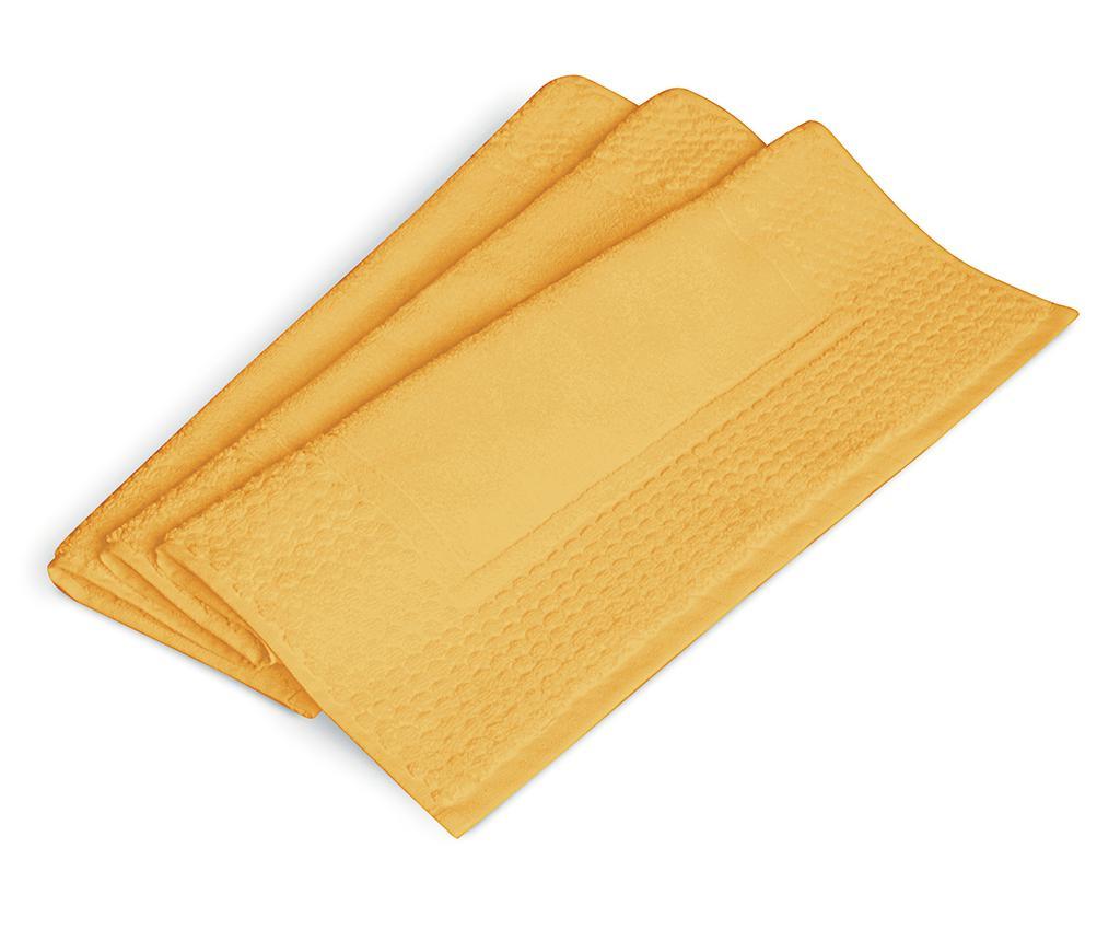Prosop pentru picioare Linea Yellow 50x80 cm - Excelsa, Galben & Auriu