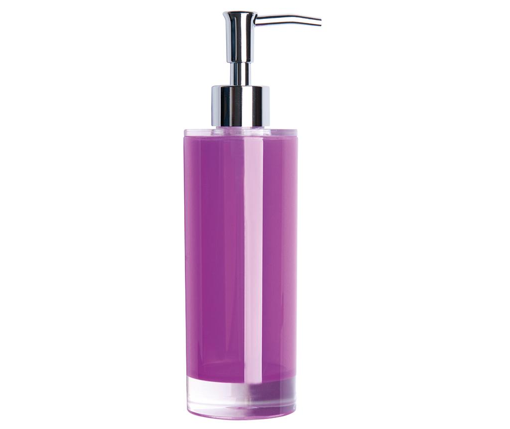 Dispenser sapun lichid Linea Lilac 300 ml - Excelsa, Mov