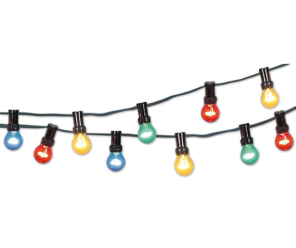 Ghirlanda luminoasa pentru exterior Color Party Light - Näve, Multicolor imagine