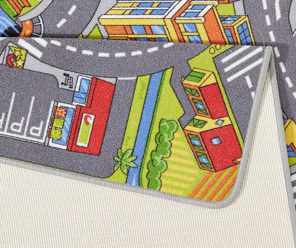 Covor de joaca Smart City Grey 140x200 cm - Hanse Home, Negru,Multicolor - 2