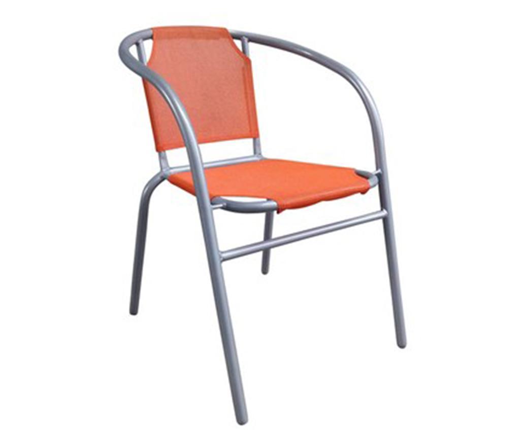 Exteriérová stolička Patrick Orange
