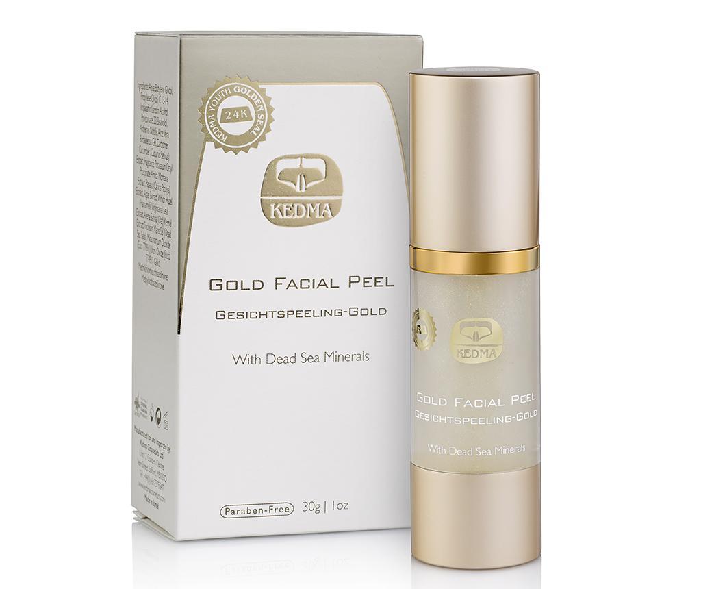 Gel Exfoliant Pentru Fata Kedma Precious Gold 30 G