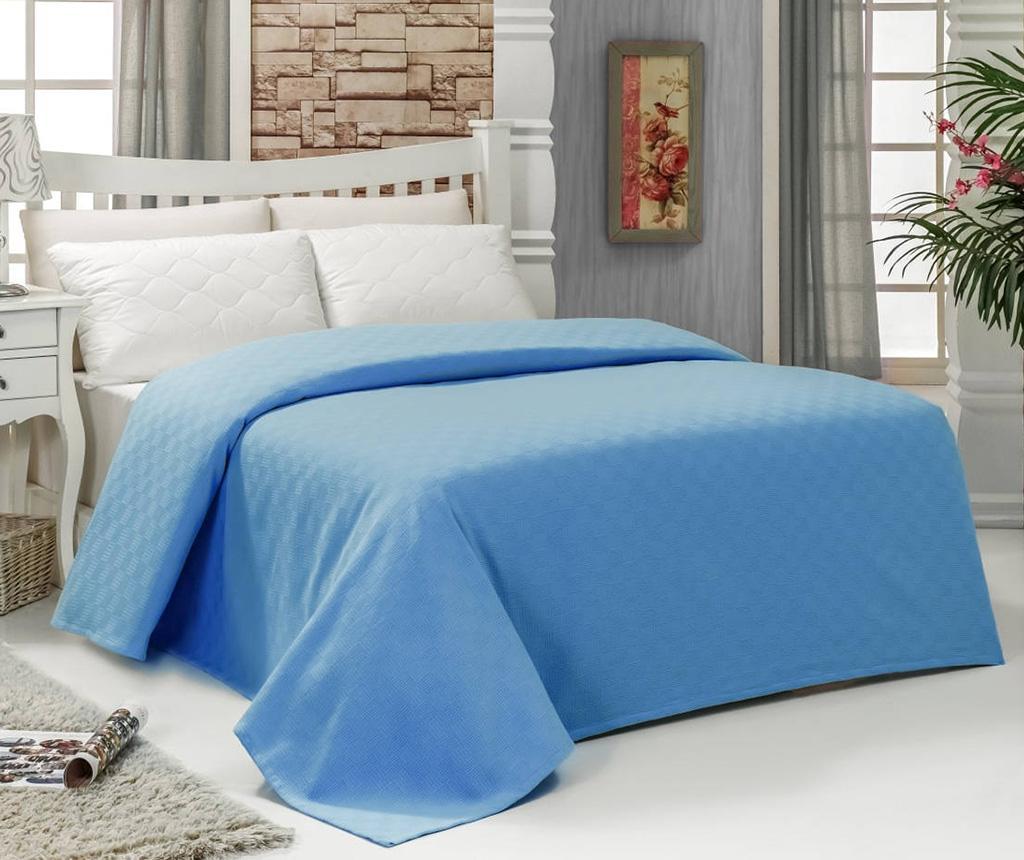Cuvertura Pique Esil Blue 200x240 cm