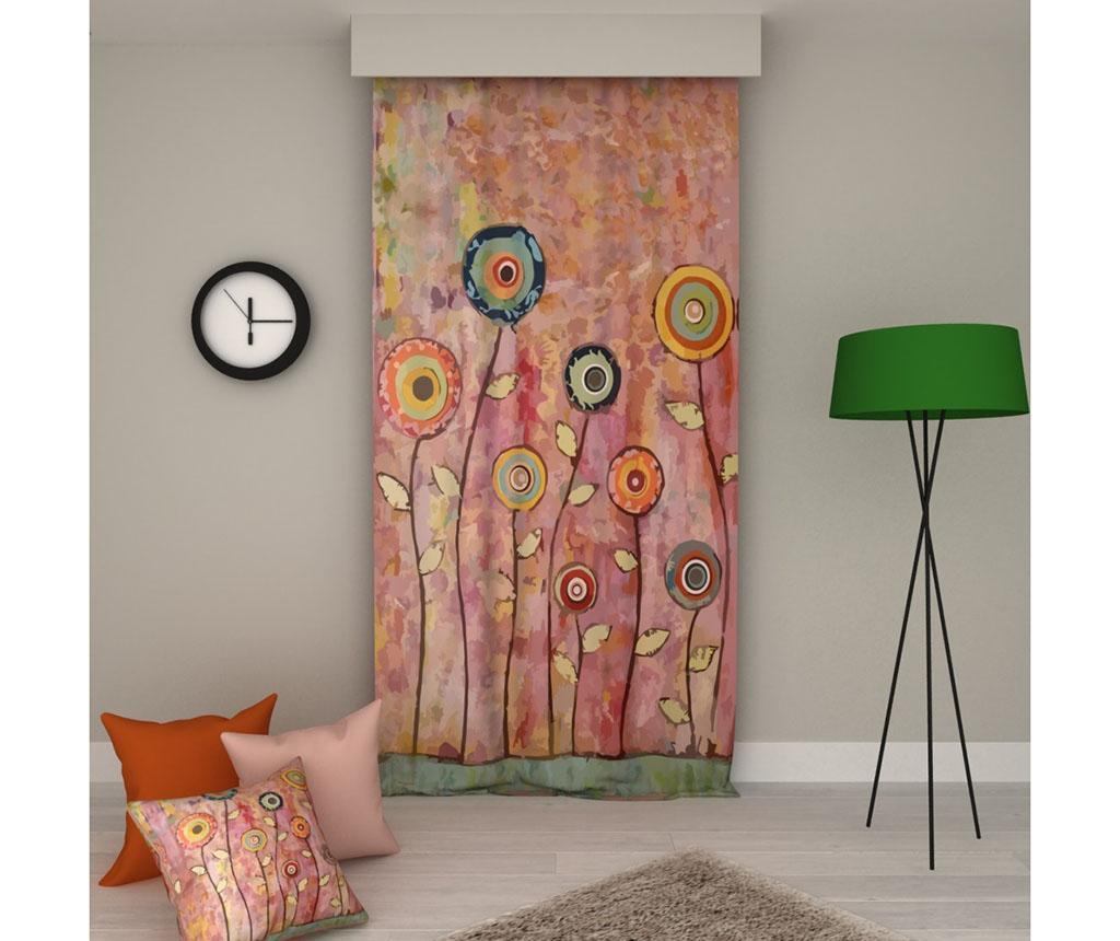 Draperie Flowers 140x250 cm - Erenev imagine