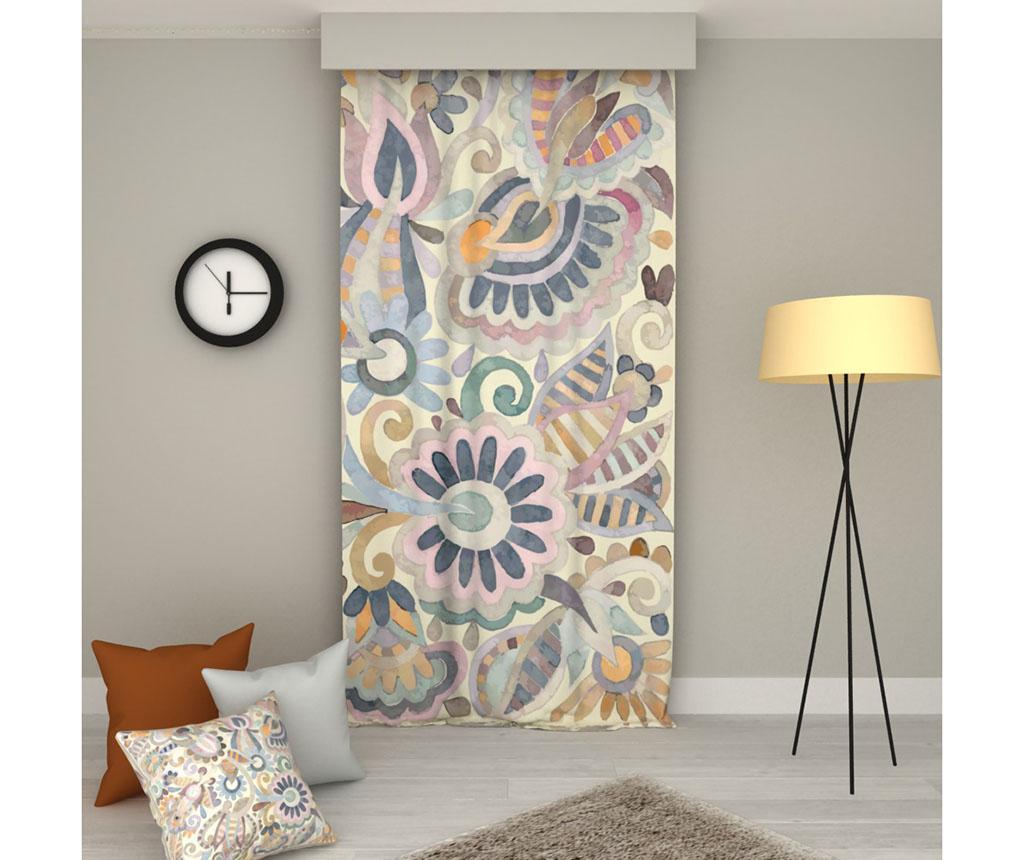 Draperie Floral 140x250 cm