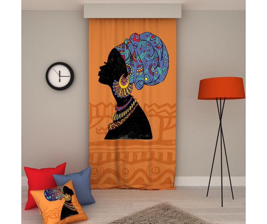 Draperie Africa Right 140x250 cm