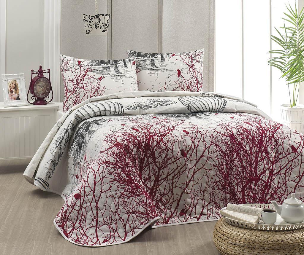 Set cuvertura matlasata Double Palvin White - Eponj Home, Alb imagine