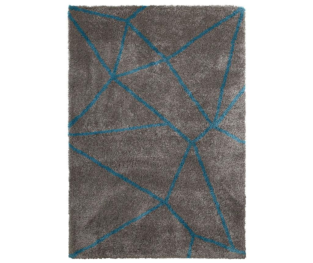 Covor Royal Nomadic Grey Blue 120x170 cm - Think Rugs, Albastru imagine