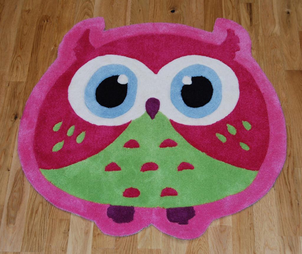 Covor Owl Pink 80x80 Cm