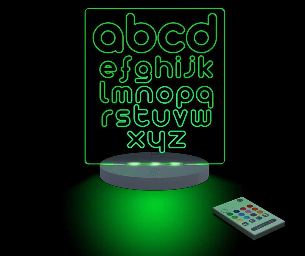 Lampa de veghe ABC - FunLights, Multicolor