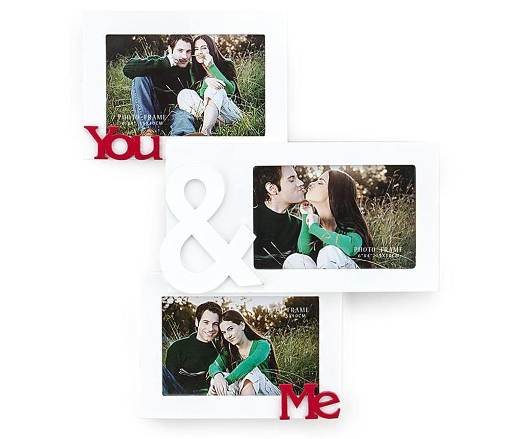 Rama 3 fotografii You and Me - Tomasucci, Alb