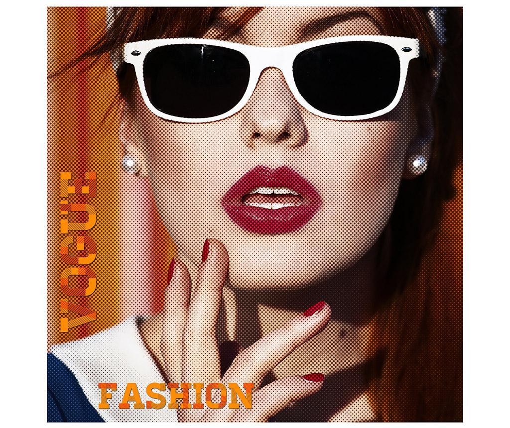 Tablou Vogue Fashion 100x100 Cm