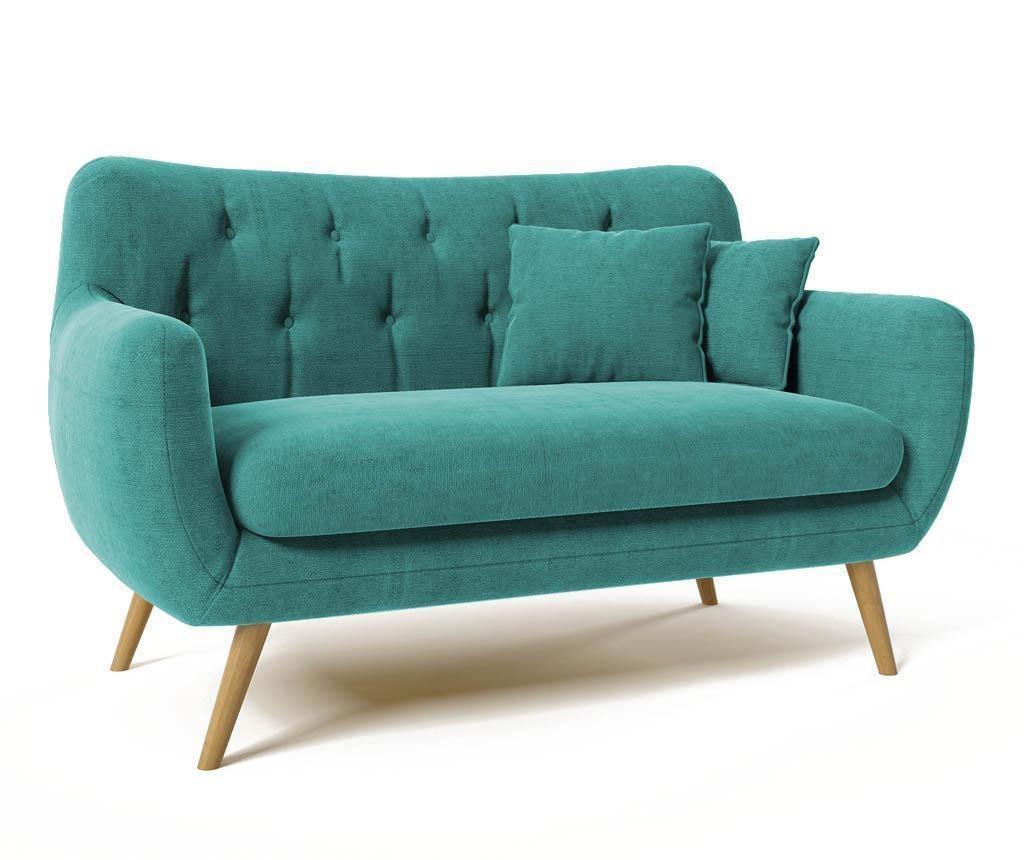 Canapea 2 locuri Renne Turquoise vivre.ro
