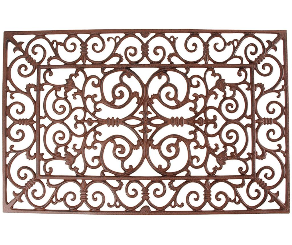 Covoras de intrare Mode 46x71.5 cm - Esschert Design, Maro imagine