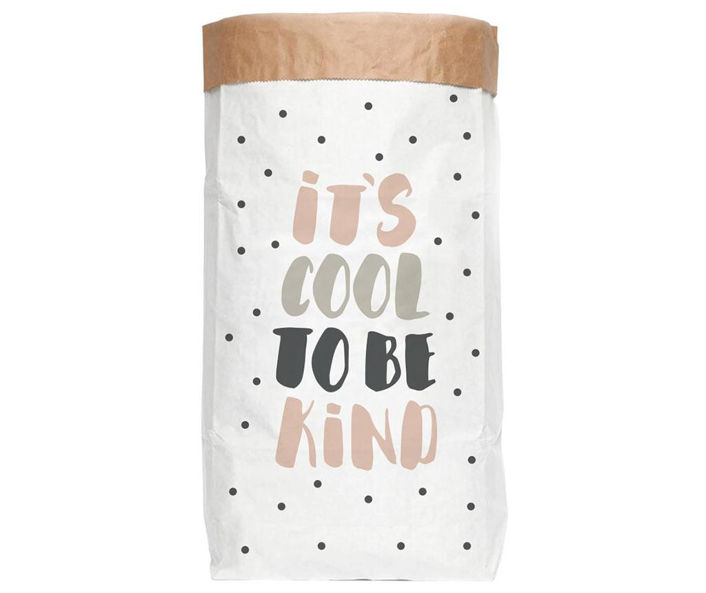 Punga pentru depozitare It's Cool - Little Nice Things, Alb