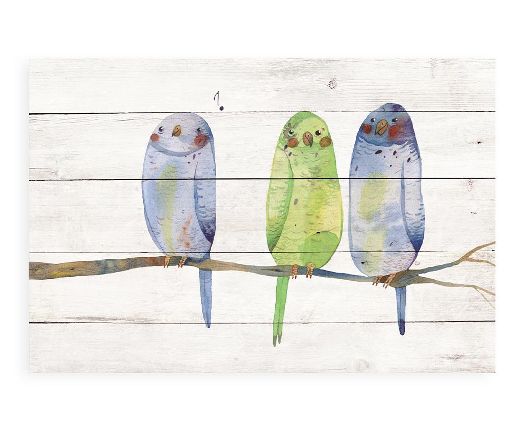 Decoratiune de perete Bird Sing