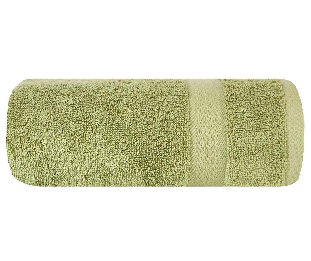 Prosop de baie Cezar Plain Green 30x50 cm
