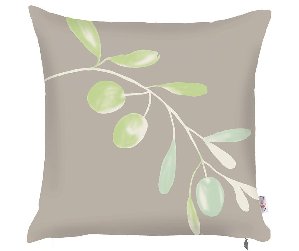 Fata de perna Olive Branch Grey 43x43 cm