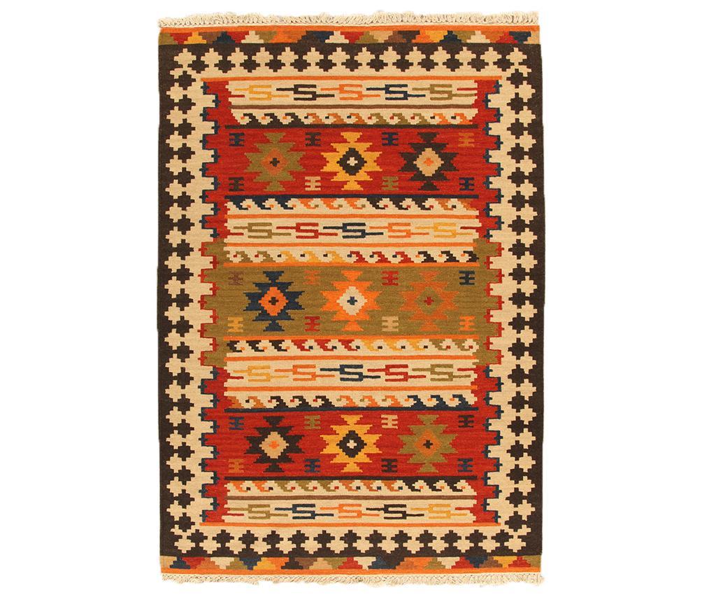 Covor Kilim Sivas Orange 200x300 cm imagine