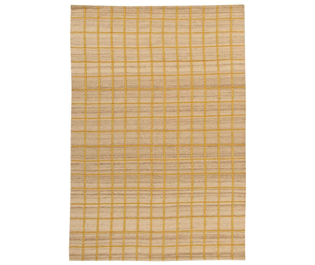 Covor Kilim Box Gold 100x160 cm imagine