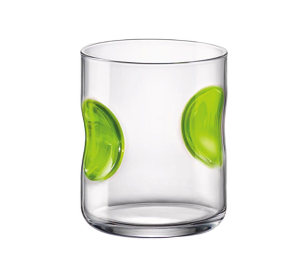 Pahar Giove Green 310 ml