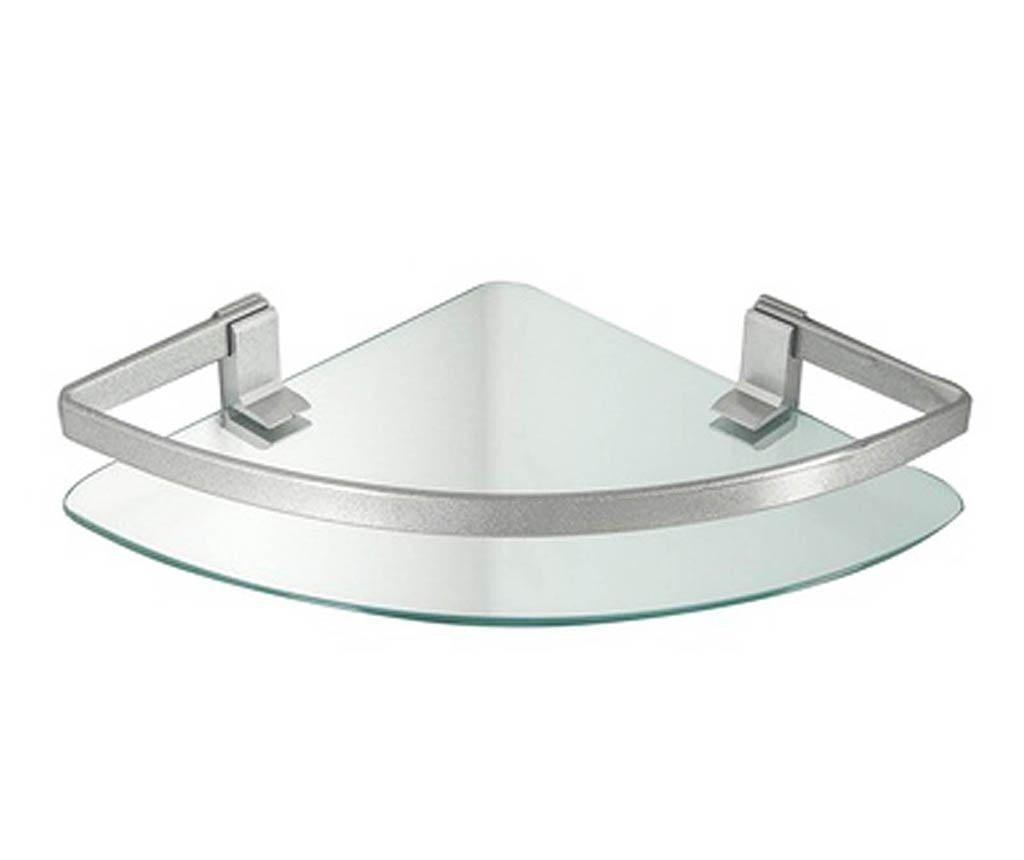 Etajera de colt pentru baie Steffani - Tomasucci, Gri & Argintiu