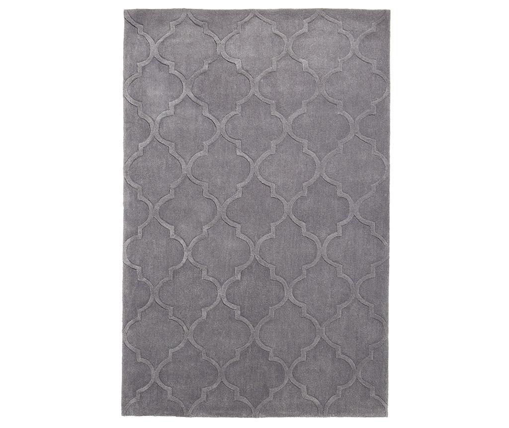 Covor Hong Kong Silver 150x230 cm - Think Rugs, Gri & Argintiu imagine