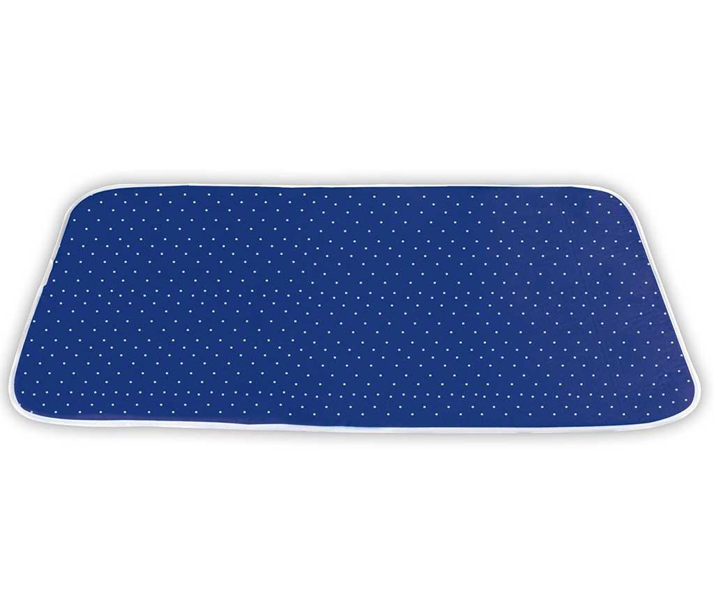 Patura pentru calcat Give Off 65x100 cm - Wenko, Albastru poza