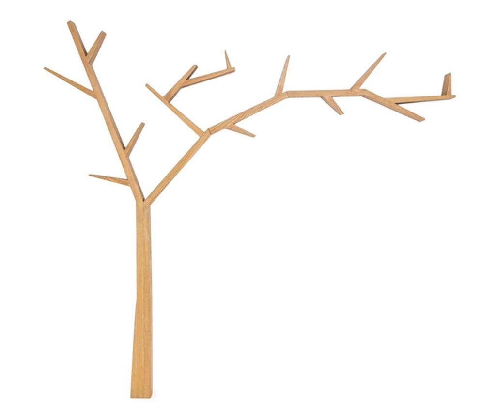 Corp cu rafturi Tree Right - Signal, Crem