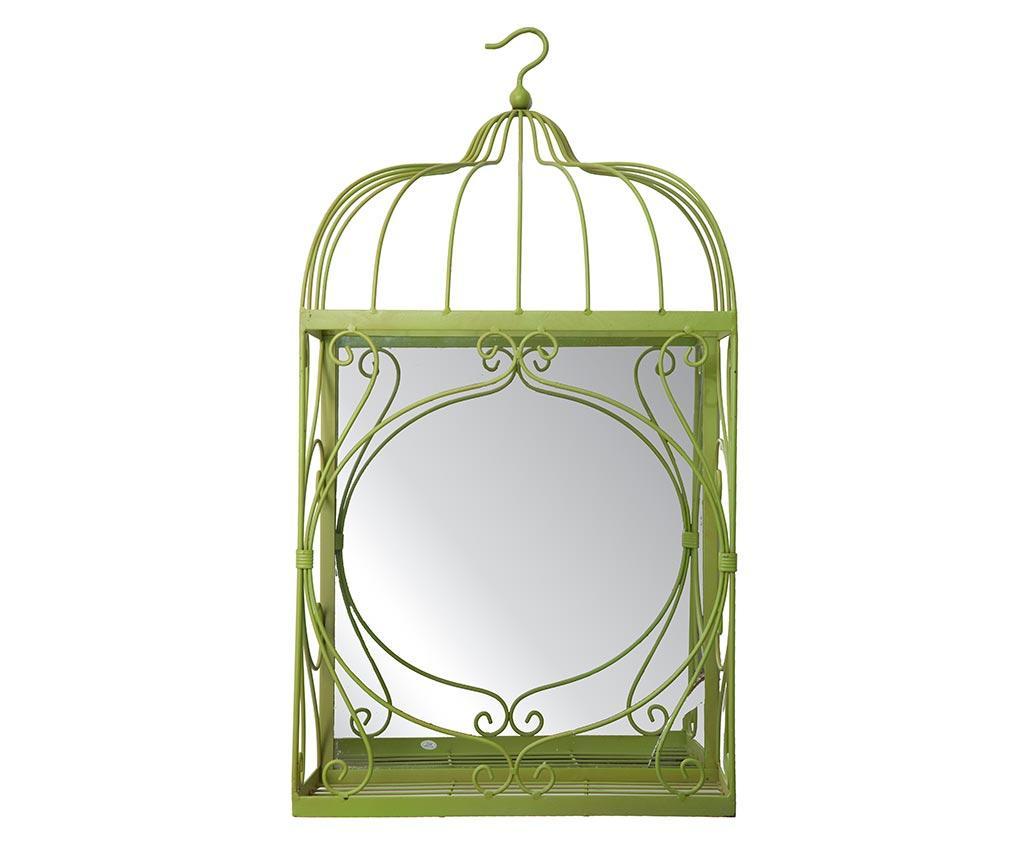 Decoratiune cu oglinda Marta Green - Mauro Ferretti, Verde poza