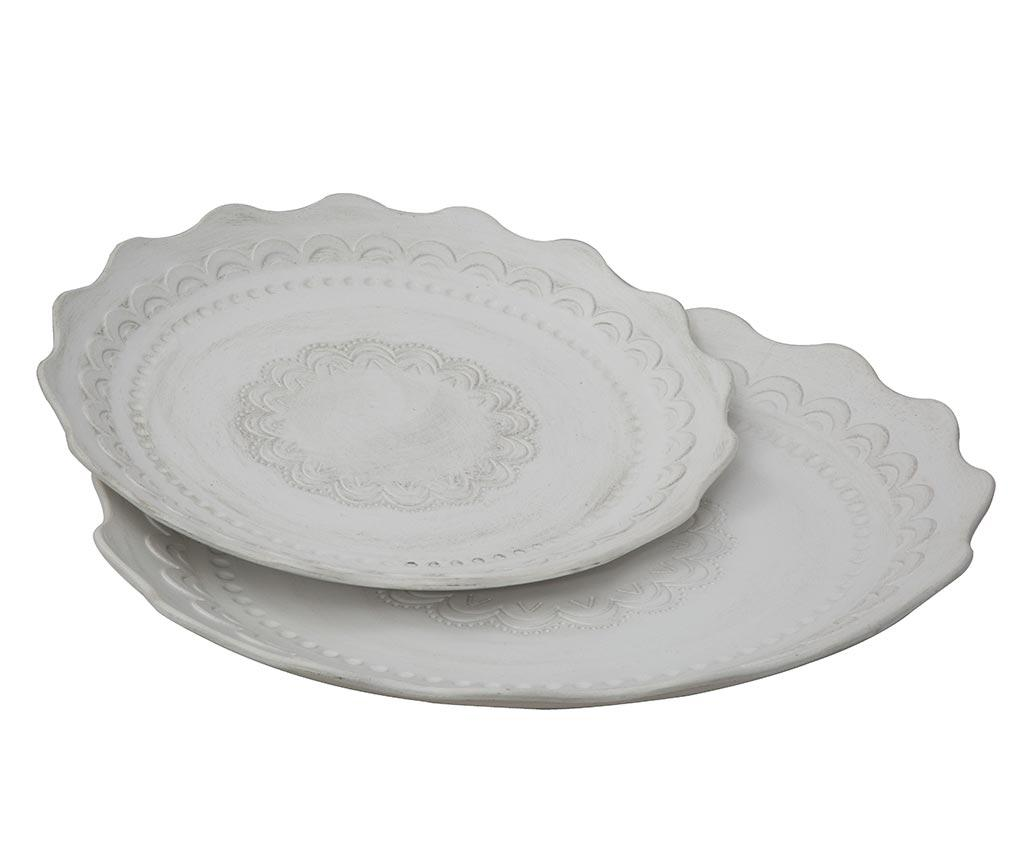 Set 2 platouri decorative Sally imagine