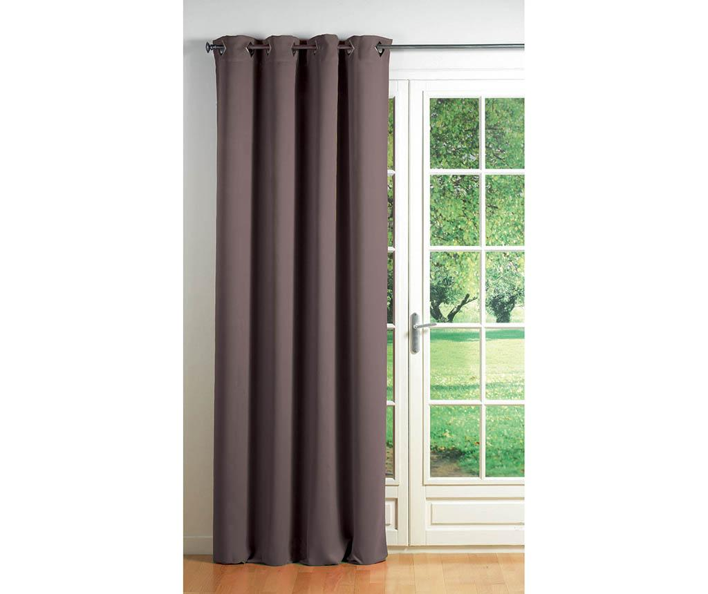 Draperie Cocoon Brown 140x260 cm imagine