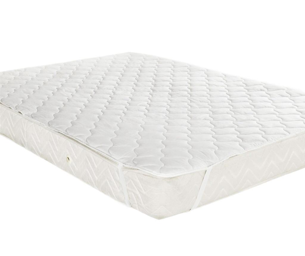 Protectie matlasata pentru saltea Finesse White 90x200 cm imagine