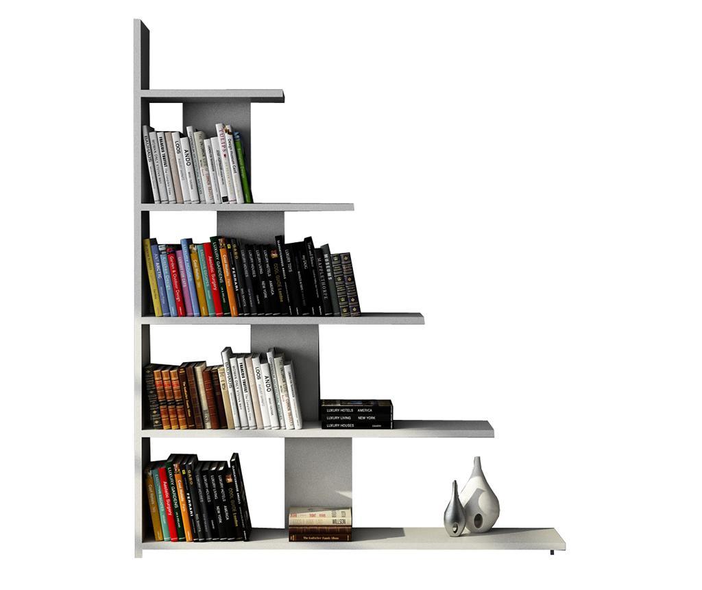 Biblioteca Reward White - Moblert, Alb
