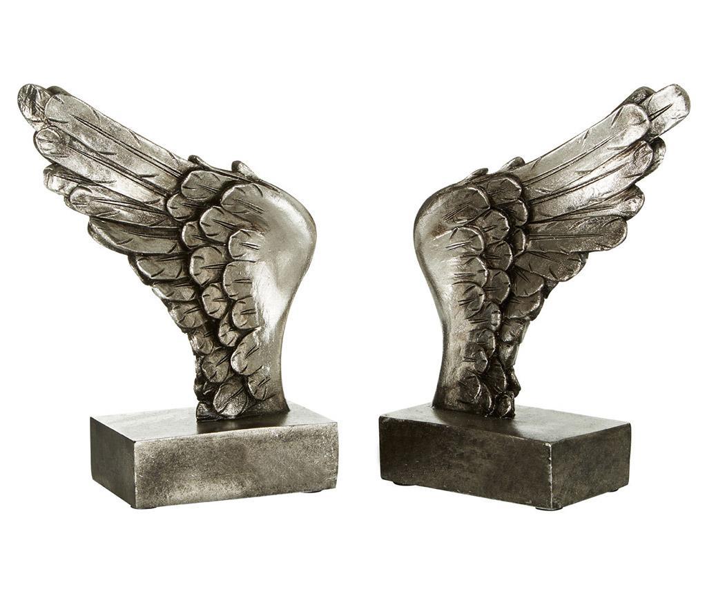 Set 2 suporturi pentru carti Wing imagine