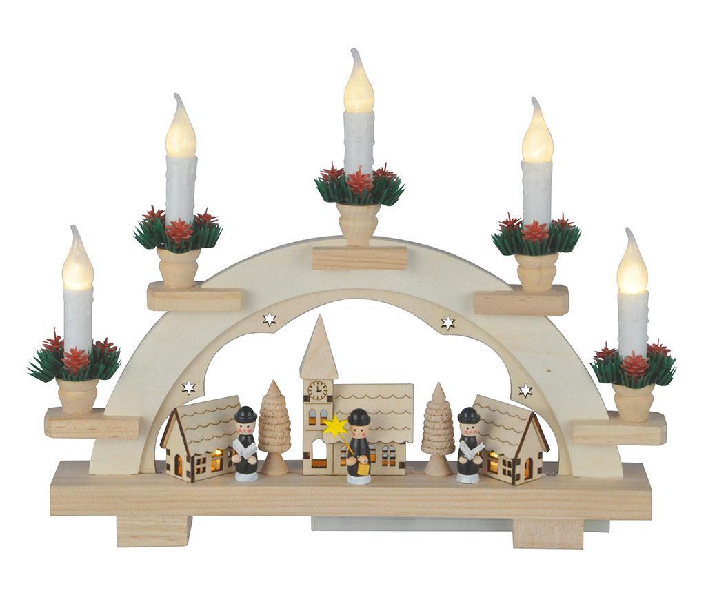 Decoratiune luminoasa Christmas Welcome imagine
