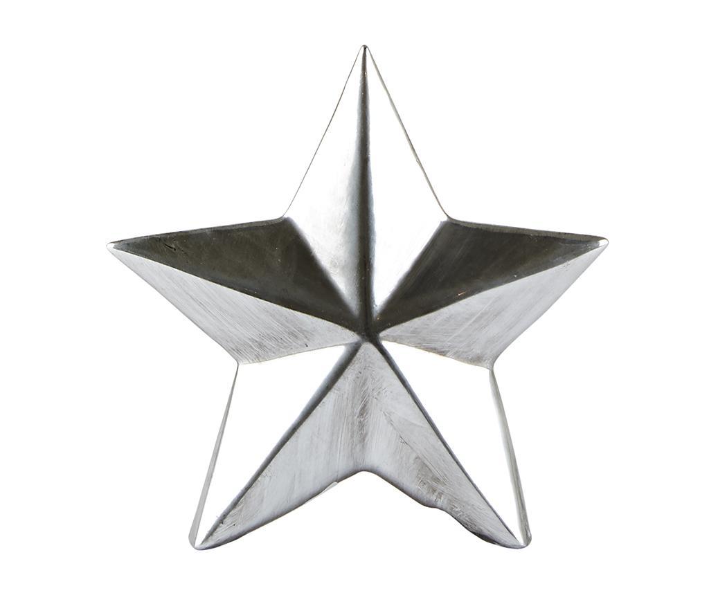 Decoratiune Shiny Star Silver S