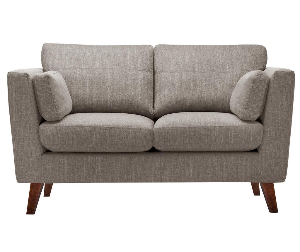 Canapea 2 locuri Elisa Hazelnut imagine