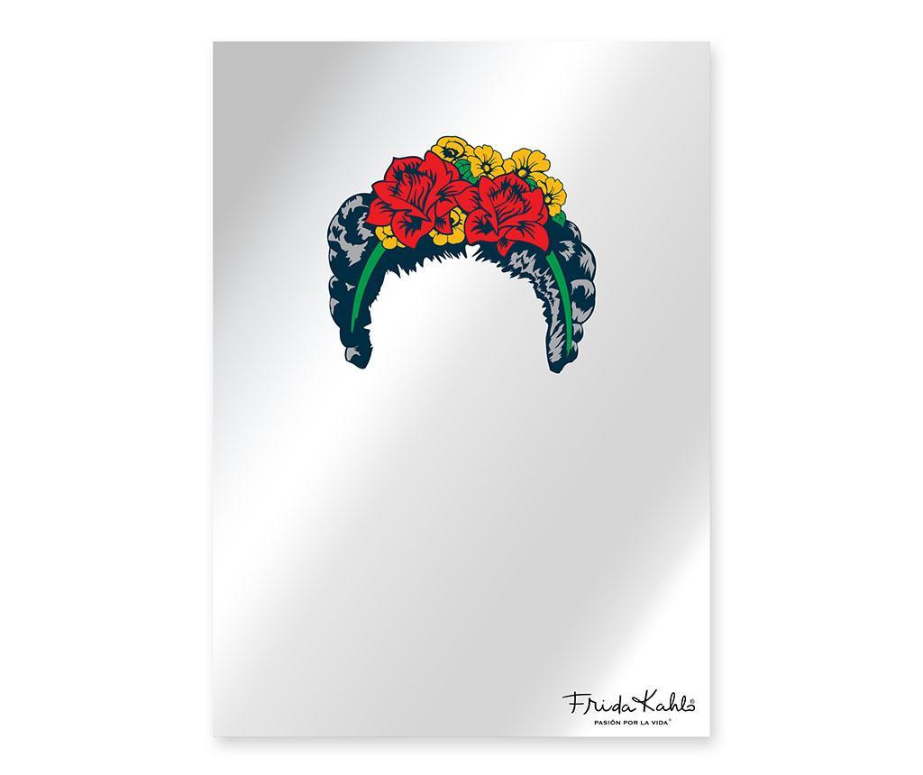 Oglinda Frida Hairstyle - Frida Kahlo, Multicolor imagine