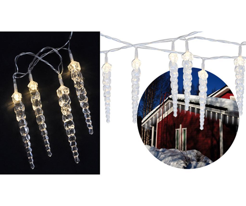 Ghirlanda luminoasa de exterior Icicles Chain imagine