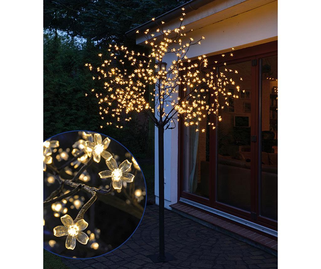 Decoratiune luminoasa de exterior Sakura Tree Warm & White imagine