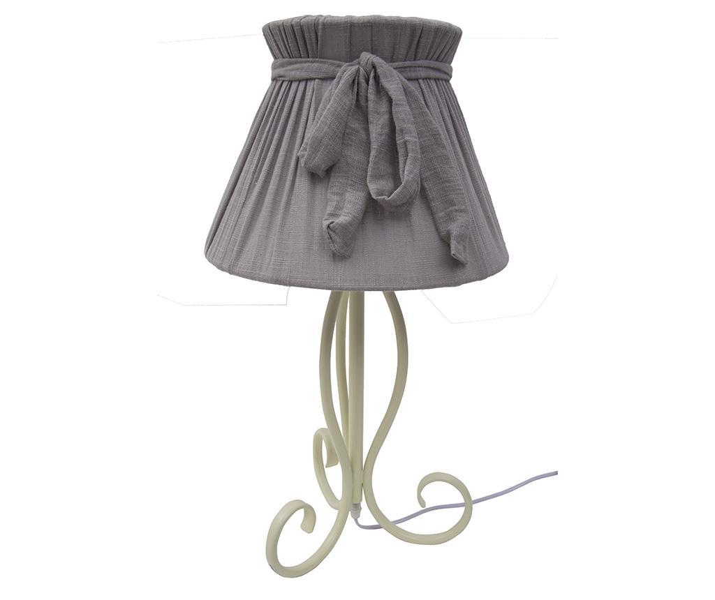 Lampa Victorian Grey - Mauro Ferretti, Gri & Argintiu imagine