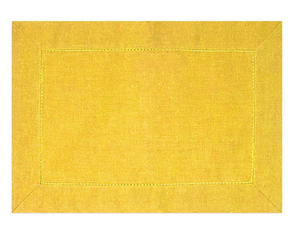 Individual Sandra Yellow 33x48 cm