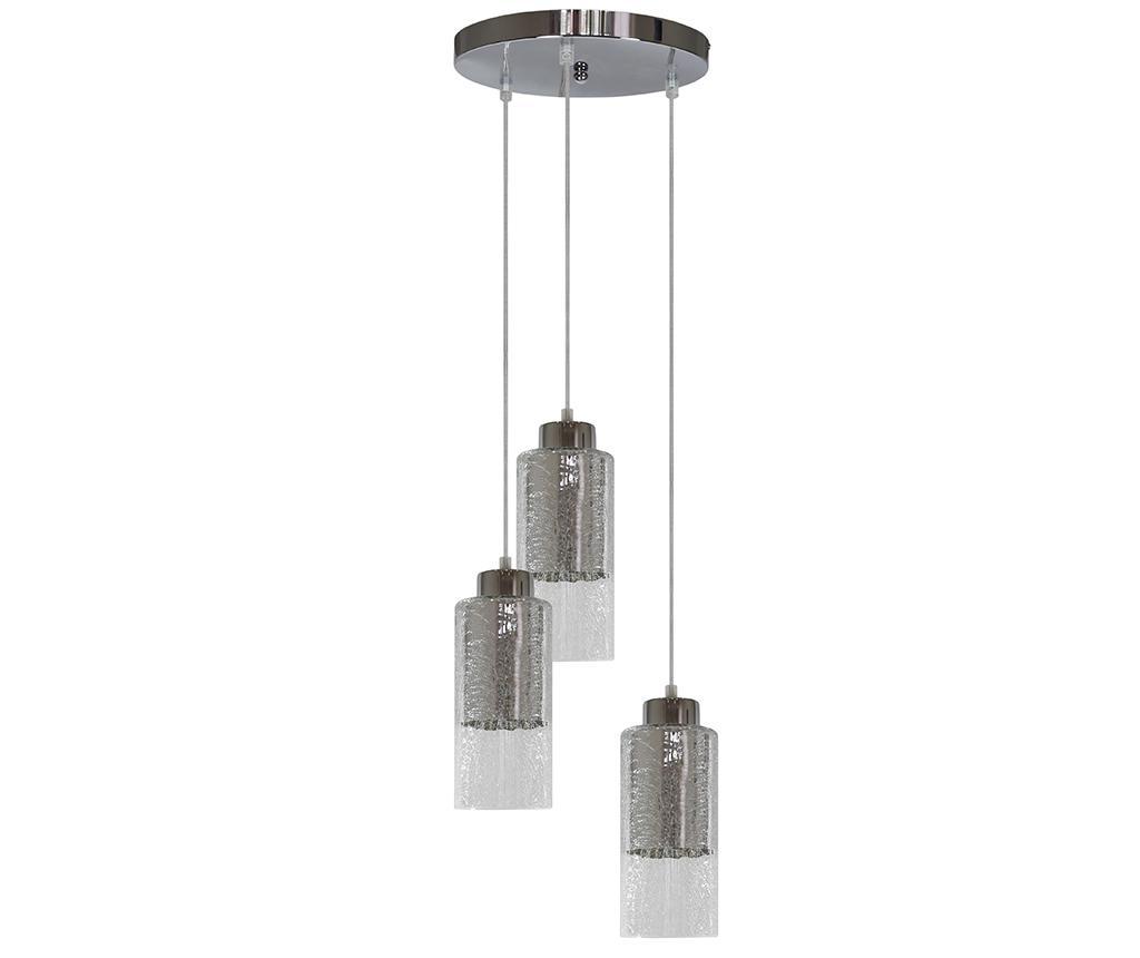 Lustra Libano Trio - Candellux Lighting, Gri & Argintiu imagine