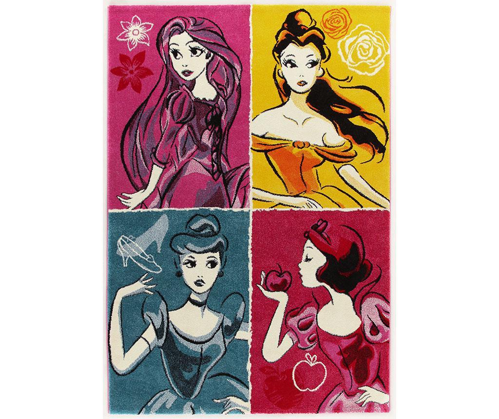 Covor Princesses 133x190 cm - Disney imagine