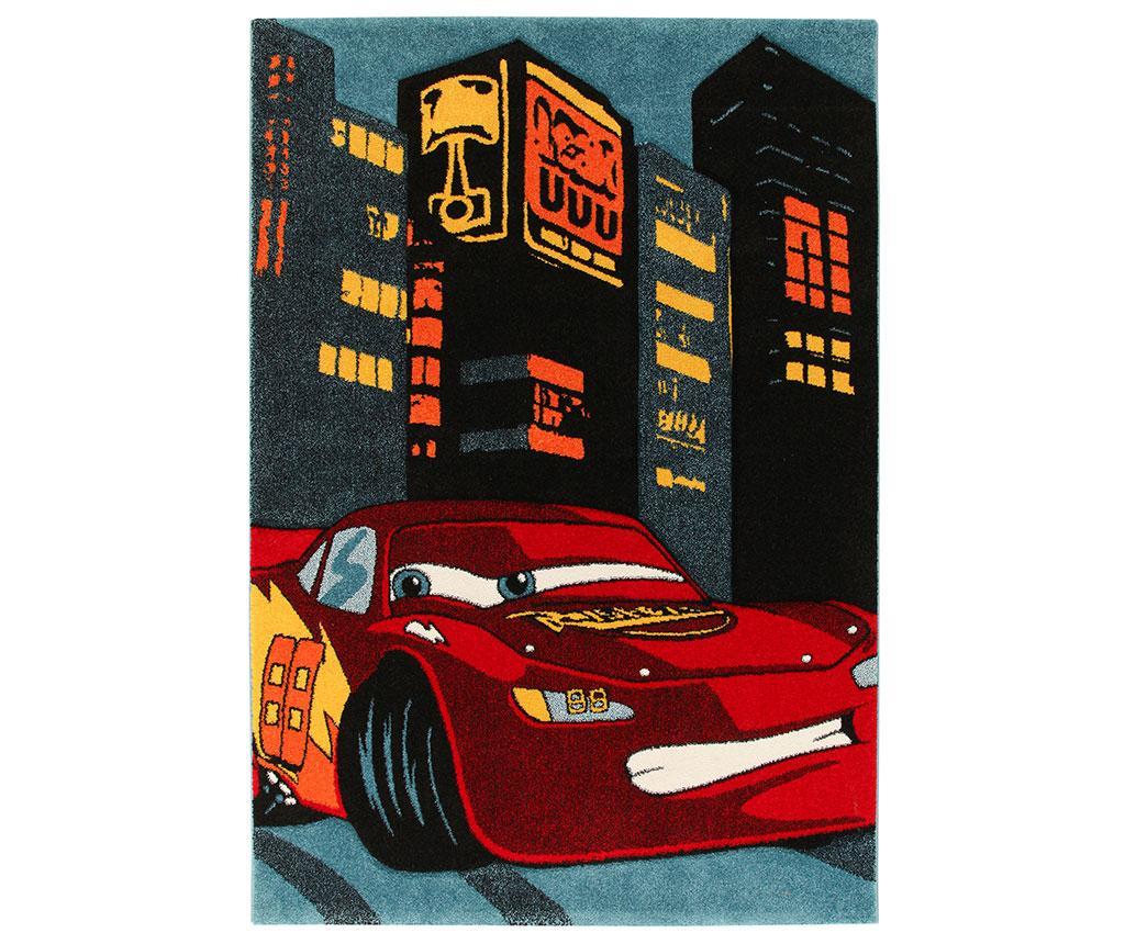 Covor Cars City Race 133x190 cm - Disney imagine