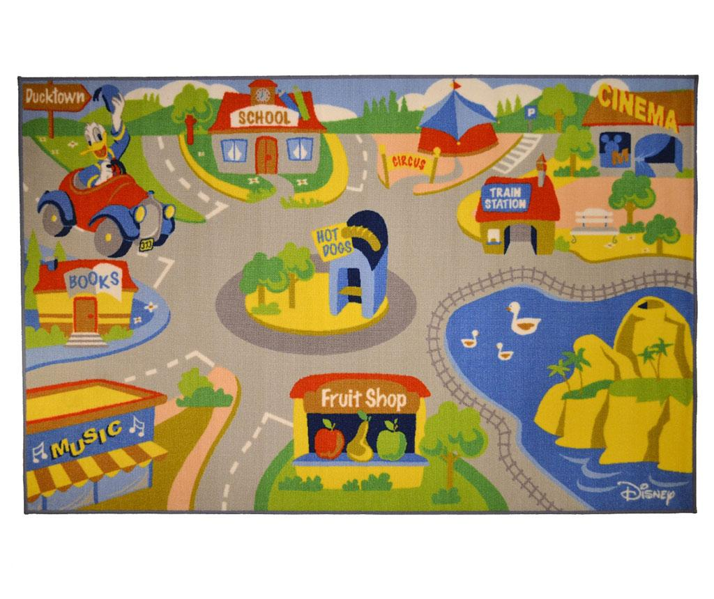 covor, copii, strazi, masinuta, Donald, desene animate, colorat, animale